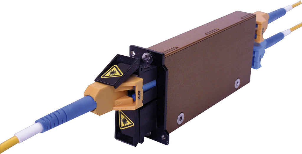 Advanced Fiber Products NTOS-M50R Normal Through Optical Switch Multimode Duplex LC Jack