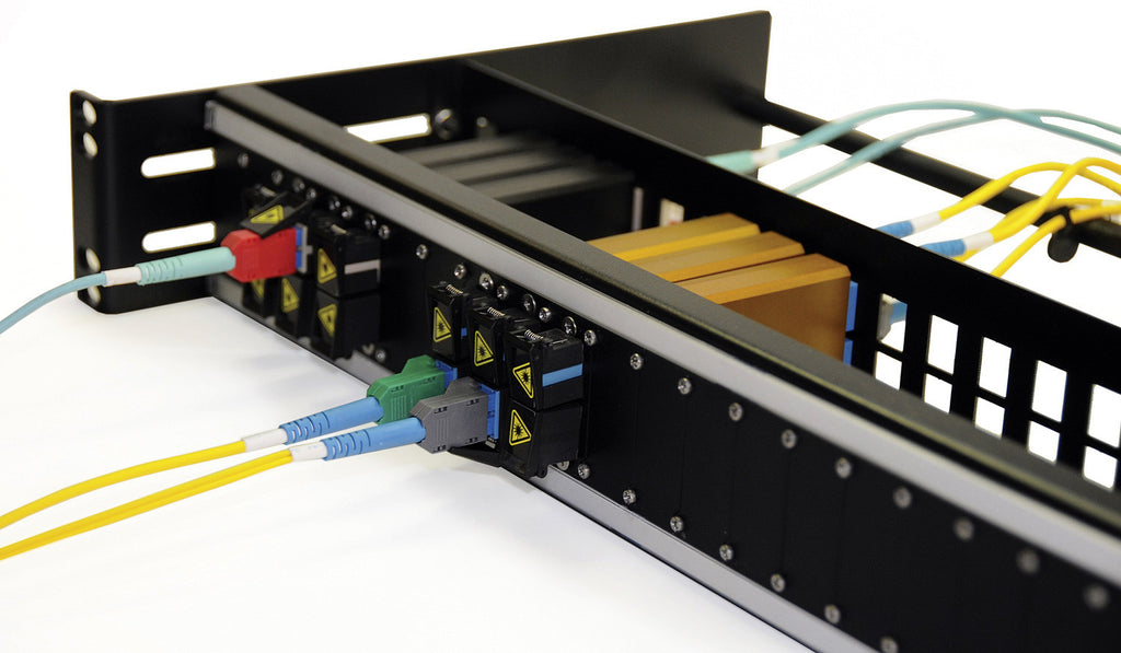 Advanced Fiber Products NTOSPNL2 Open Fiber Patch Panel for up to 24 NTOS Jacks - 2RU