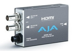 AJA HDMI to SD/HD-SDI Video and Audio Converter