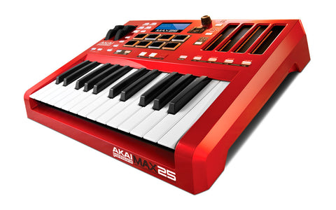 A high quality Image of Akai MAX25 Compact USB/MIDI/CV Keyboard Controller