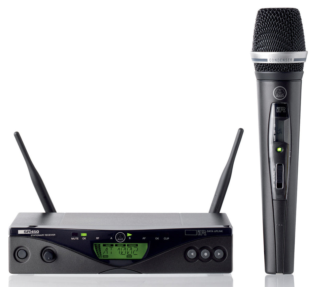 AKG WMS450-C5 Wireless Handheld Microphone System (Band 8)