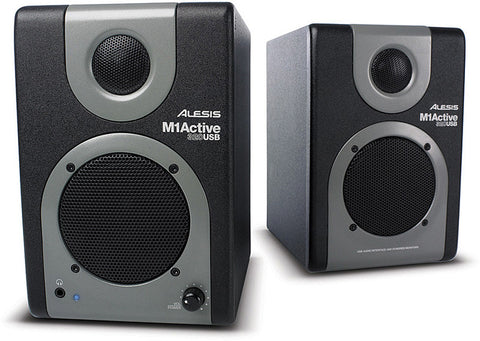 Alesis M1 Active 320 USB 2 Way Active Desktop Monitors  Pair