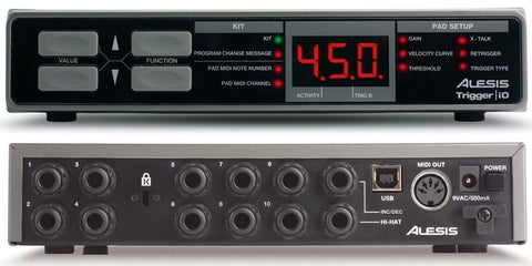 A high quality Image of Alesis Trigger iO Electronic Percussion Interface