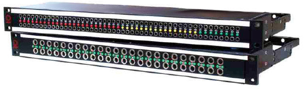 AVP A224E1-L-HNSGE03 Jackfield 2x24/Longframe/24 Half Normal Switching Ground Modules