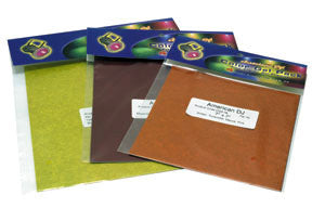 American DJ 7X7 Gel Sheet Pack Amber/ Turquoise/ Mauve/ Pink