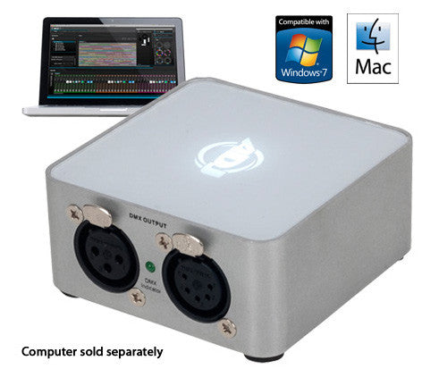 American DJ MYD846 MyDMX 2.0 512 Channel DMX Software/Hardware Package