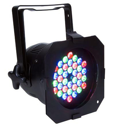 American DJ PROPAR 56RGB LED PAR 56 Can with DMX Control - Black