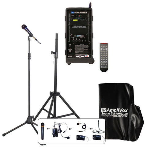 AmpliVox B9151 Basic Digital Audio Travel Partner Package - Handheld
