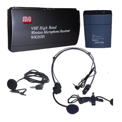 AmpliVox S1612 Wireless Lapel and Headset Microphone Kit