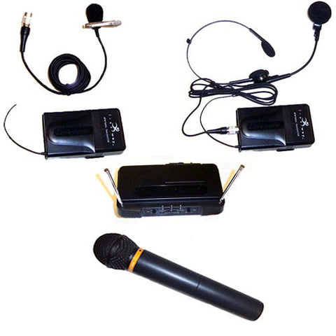 AmpliVox S1660 Wireless Handheld Microphone Kit