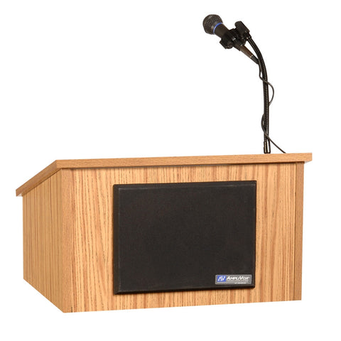 AmpliVox S250 Tabletop Lectern with Sound System (in 2 colors)