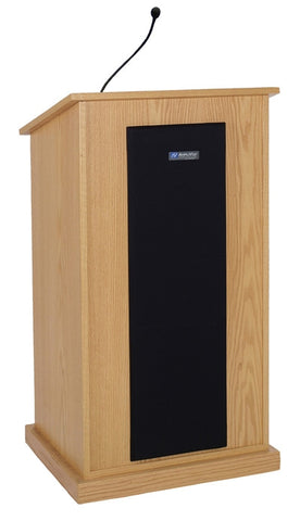 AmpliVox S470 Chancellor Lectern with Sound System (in 3 colors)
