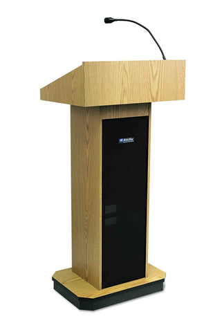 AmpliVox S505 Executive Column Lectern with Sound System (4 colors)