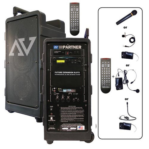 AmpliVox S9160 Built-in Digital MP3 Player/Recorder with SD slot (factory installed option)