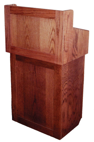 AmpliVox SN3010 Oxford Two-Piece Lectern without Sound System (in 2 colors)
