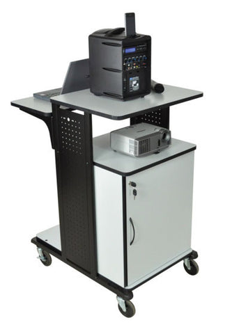 A high quality Image of AmpliVox SN3340 Multimedia Work Station with Cabinet