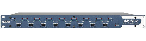 Aviom AN-16/o v.4 16-Channel Mic- and Line-Level Output Module