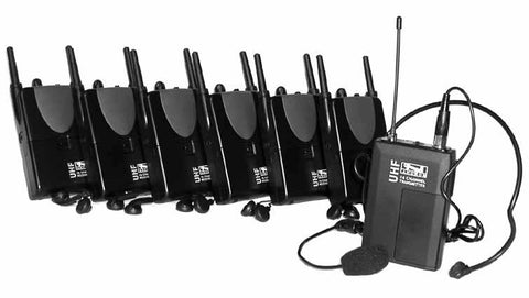 Anchor Tour-60 Wireless Assistive Listening UHF Tour Guide System
