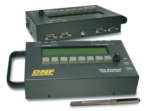 DNF Controls Analyst RS422/RS232 Tester