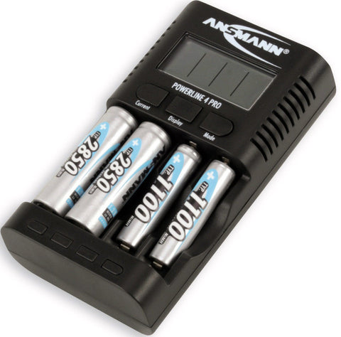A high quality Image of Ansmann 1001-0005-US Powerline 4 Professional Battery Charger - AA/AAA