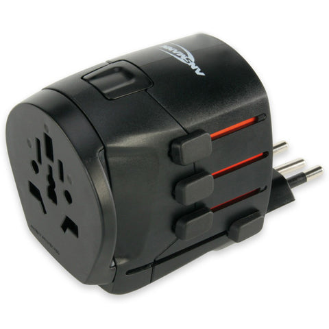 Ansmann 1809-0000 All in One 3 Universal Travel Adaptor