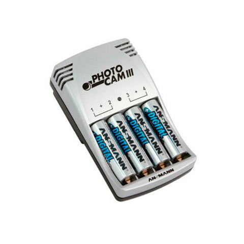 A high quality Image of Ansmann 5007093/US Photo Cam III /2850 Battery Charger