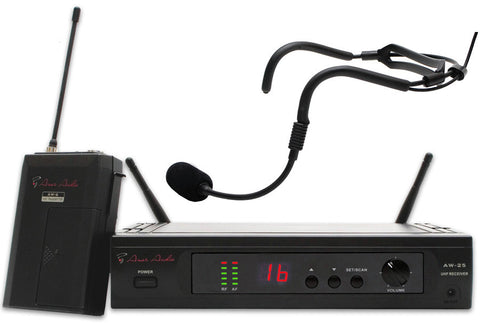 Ansr Audio Scan16 UHF Wireless System with SP 746 Waterproof Mic