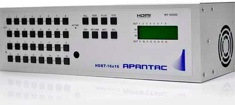 Apantac HDMI-16x16 HDMI 16x16 Matrix with IR - RS232 & IP Control