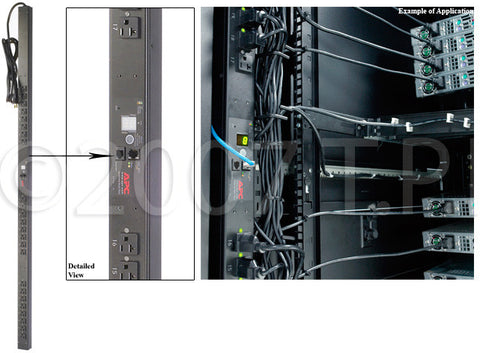 APC 7931Rack PDU Switched Zero U 15A 100/120V (16) 5-15