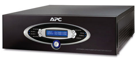 A high quality Image of APC J10BLK AV Black J Type 1kVA Power Conditioner with Battery Backup 120V