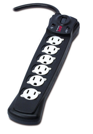 APC P6B Essential SurgeArrest 6 Outlet Power Strip