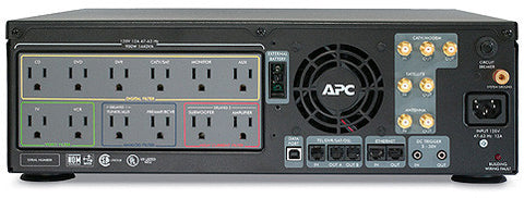 A high quality Image of APC AV Black 1.5kVA S Type Power Conditioner with Battery Backup 120V