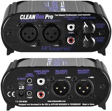 ART Cleanbox Pro  Channel Level Converter