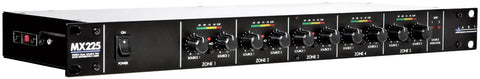 ART MX225 Stereo Dual Source Five Zone Distribution Mixer
