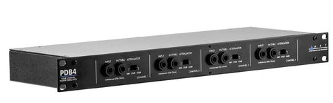 ART PDB4 Four Channel Passive Direct Box - 1RU