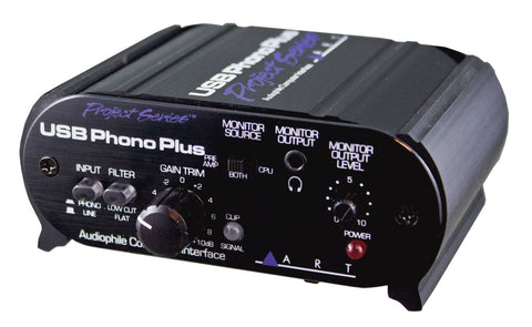 ART USB Phono Plus Project Series Preamp with USB