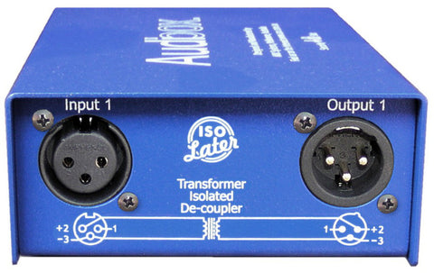 ARX IL-2 Stereo Transformer Isolated De-coupler for removing Ground loops