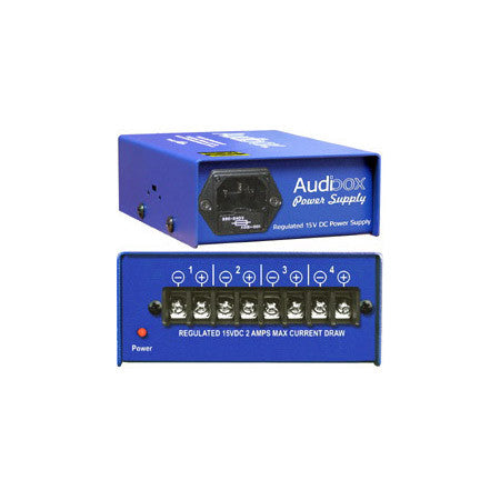 ARX PSU Audibox PSU Fully Regulated 15 Volt DC Power Supply