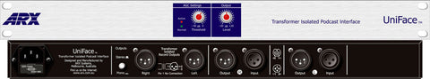 ARX Uniface AV/Podcast Mixer Interface with Automatic Gain Control