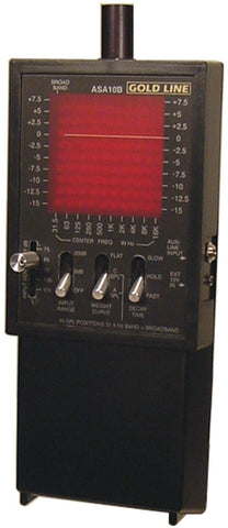 Gold Line ASA10B Hand-Held 10 Band Single Octave Analyzer