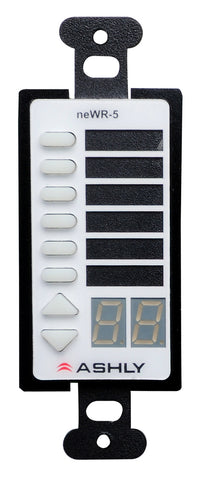 Ashly NEWR-5 Wall Remote Control