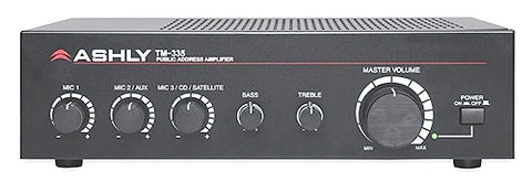 Ashly Audio TM-335 35W Public Address Mixer/ Amplifier