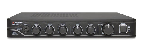 Ashly Audio TM-360 60W Public Address Mixer/ Amplifier