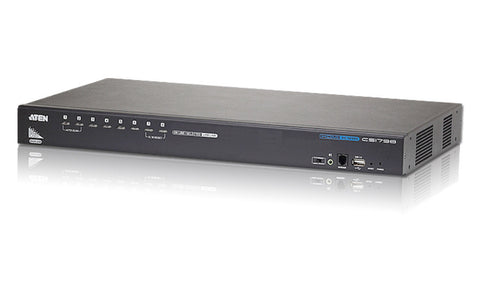 A high quality Image of ATEN CS1798 8-Port USB HDMI KVM Switch