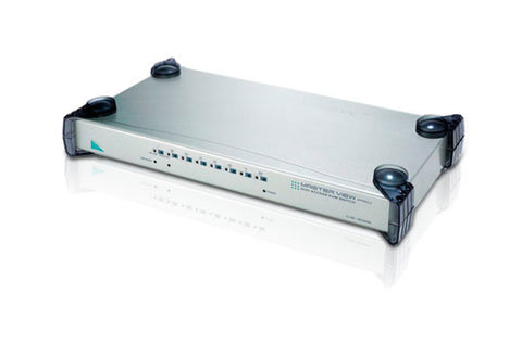 A high quality Image of ATEN CS428 8-port 4 Users Matrix KVM with Audio Support