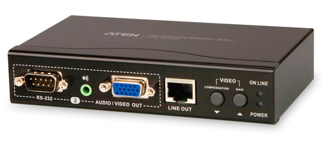 A high quality Image of ATEN VB552 VGA Over Cat 5 Repeater + Audio