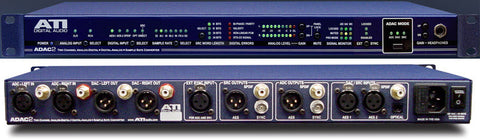 ATI Audio ADAC-2 24-bit 192kHz D-to-A and A-to-D & Sample Rate Converter