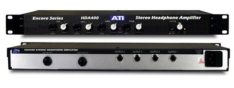 ATI Audio HDA400 4-Ch High Power Stereo Headphone Amplifier