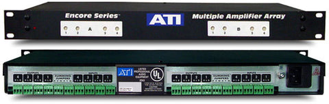 ATI Audio MLA800-1 8-Ch Line Amplifier with Transformer Balanced Outputs