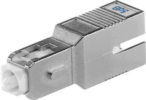 Senko ATN-632-03-1 3dB SC Fiber Attenuator - UPC Return Loss 55dB or Greater